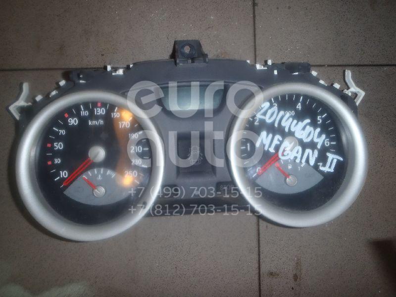 Купить Панель приборов Renault Megane II 2003-2009; (8200306538)