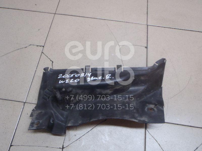 Купить Пыльник двигателя боковой правый Mercedes Benz W220 1998-2005; (2206902630)