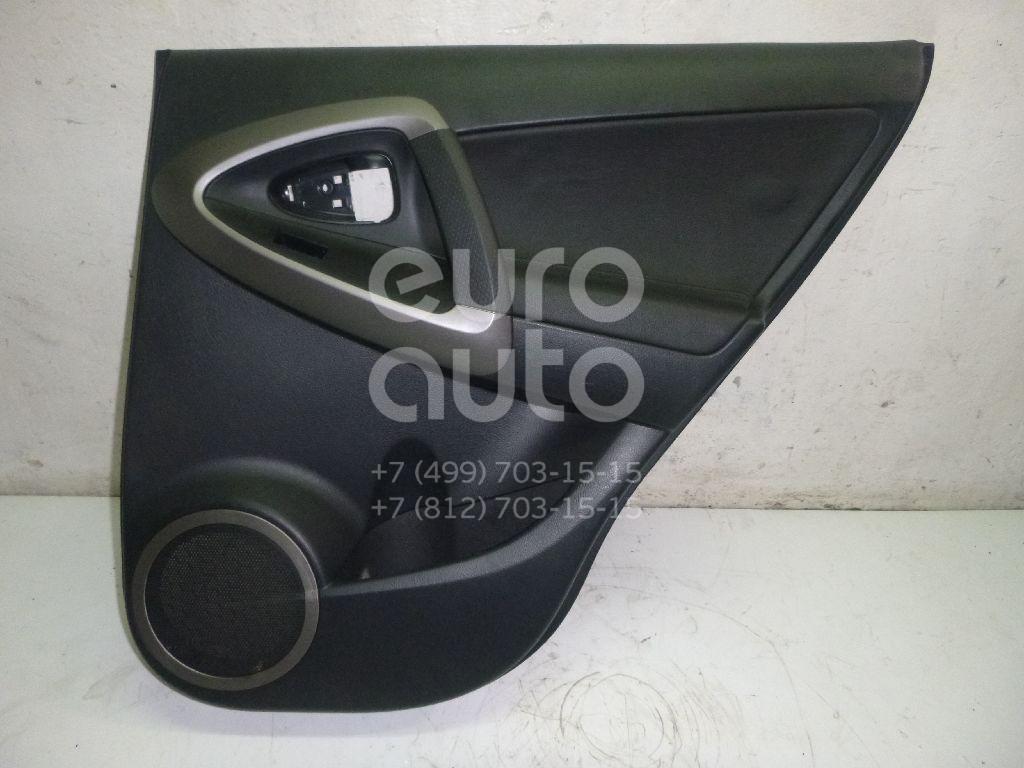 Обшивка двери задней правой Toyota RAV 4 2006-2013; (6763042330B0)