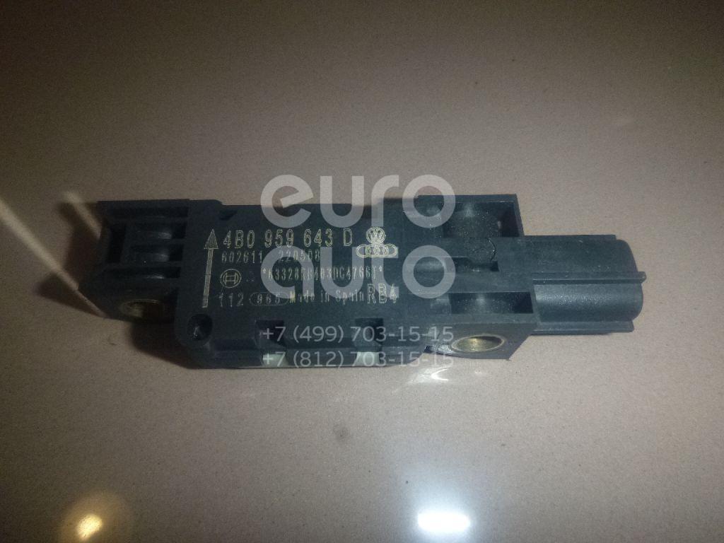 Купить Датчик AIR BAG Audi A3 [8PA] Sportback 2004-2013; (4B0959643D)