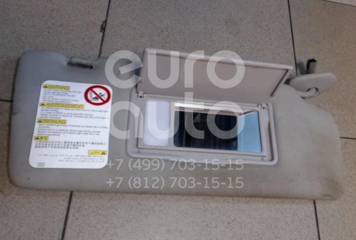 Купить Козырек солнцезащитный (внутри) Subaru Tribeca (B9) 2005-2014; (92011XA06AMV)