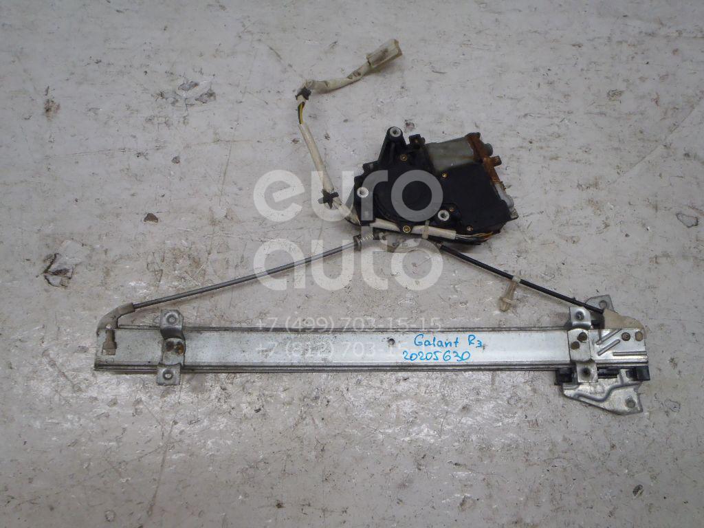 Купить Стеклоподъемник электр. задний правый Mitsubishi Galant (EA) 1997-2003; (MR215438)