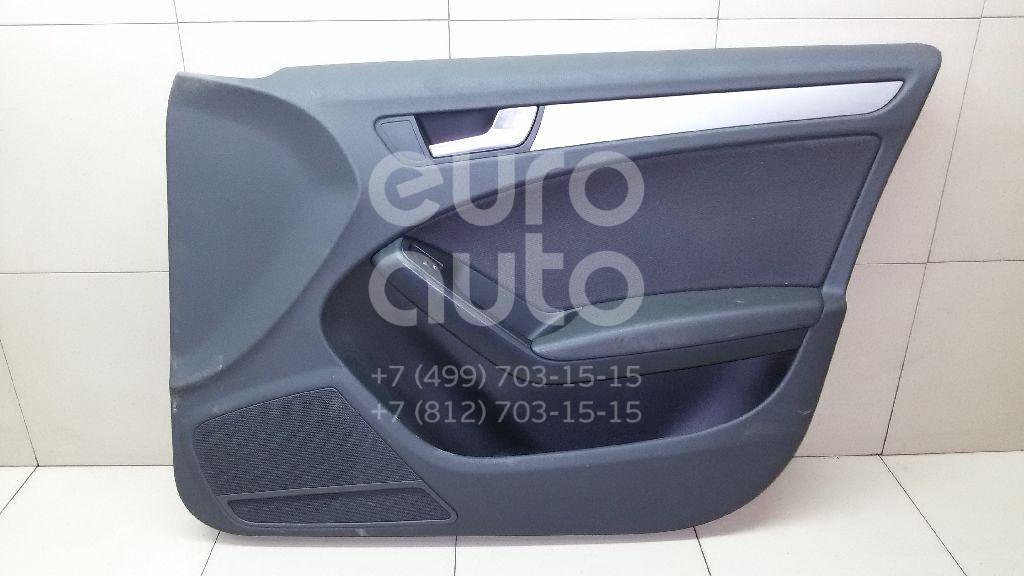 Купить Обшивка двери передней правой Audi A4 [B8] 2007-2015; (8K0867104DWFA)