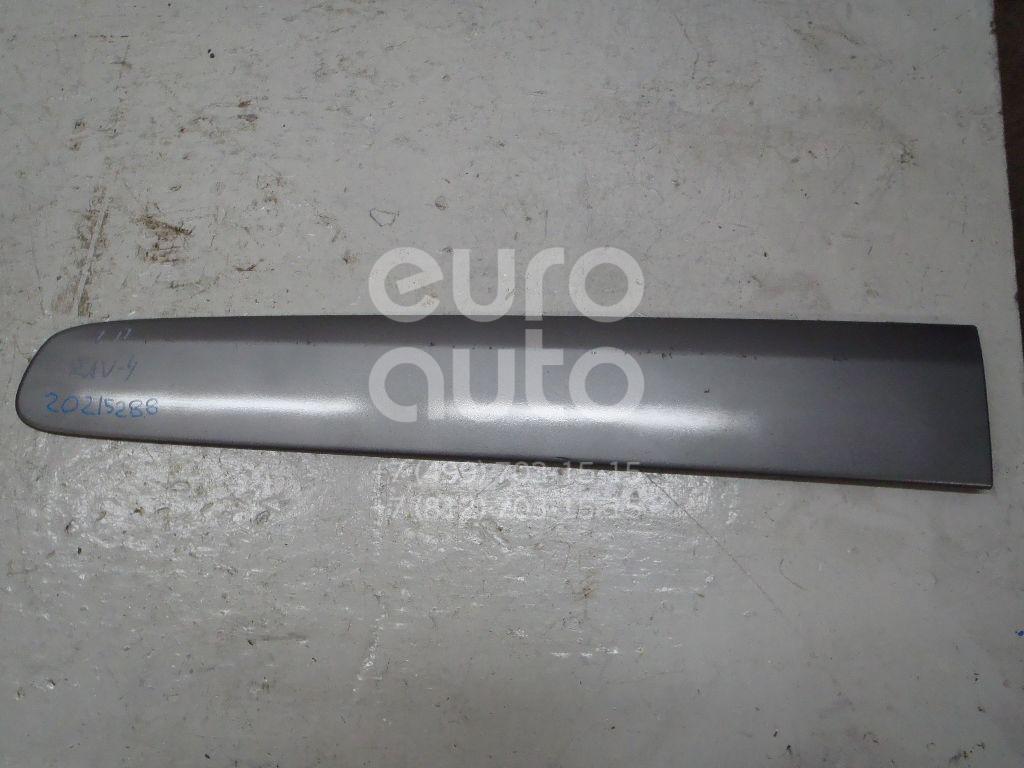 Купить Молдинг передней левой двери Toyota RAV 4 2000-2005; (7573242110B1)