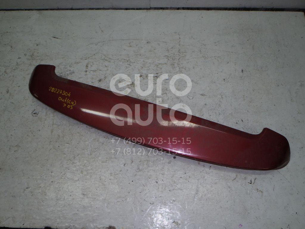 Купить Спойлер (дефлектор) багажника Mitsubishi Outlander (CU) 2001-2008; (MR642406)