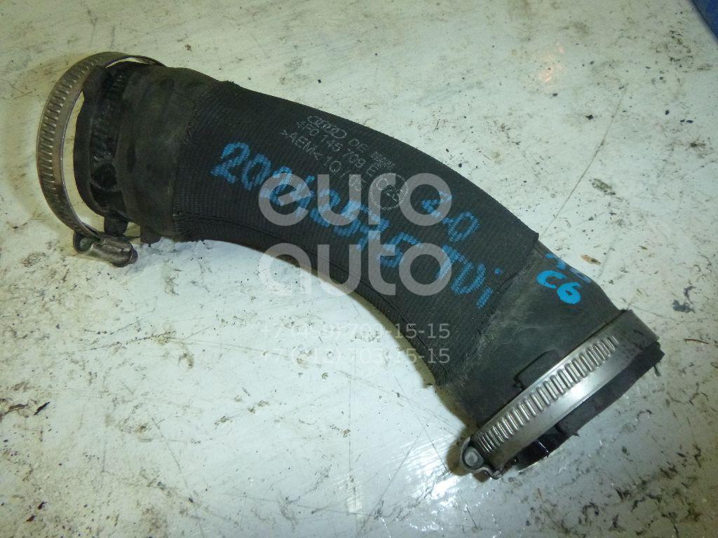 Купить Патрубок интеркулера Audi A6 [C6, 4F] 2004-2011; (4F0145709E)