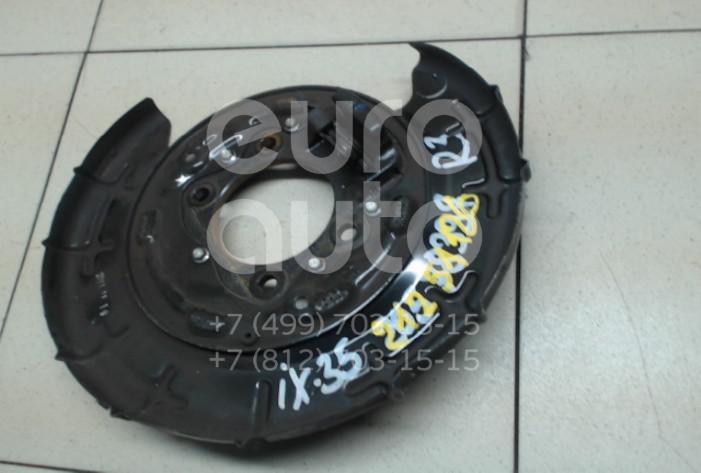Купить Щит опорный задний правый Hyundai ix35/Tucson 2010-2015; (582522S000)