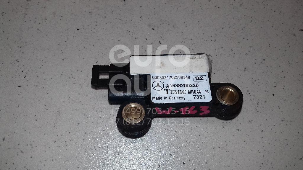 Купить Датчик AIR BAG Mercedes Benz W163 M-Klasse (ML) 1998-2004; (1638200226)