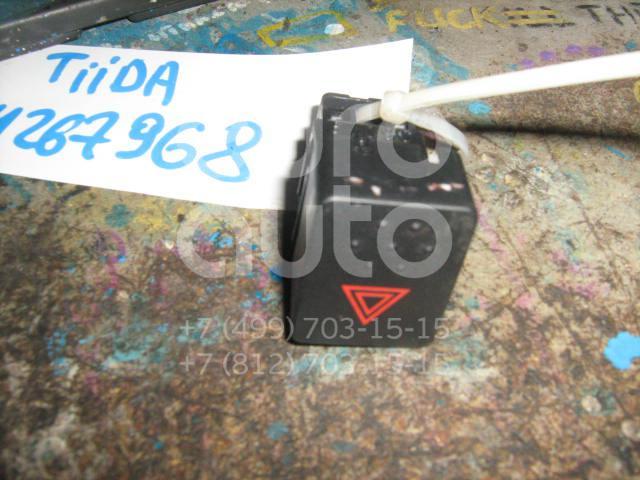 Купить Кнопка аварийной сигнализации Nissan Tiida (C11) 2007-2014; (25290EL80A)