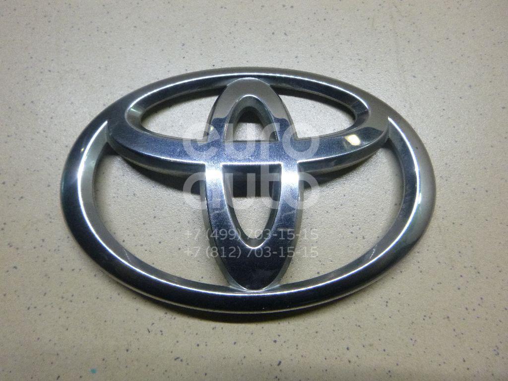 Купить Эмблема на крышку багажника Toyota Avensis III 2009-; (754310D050)
