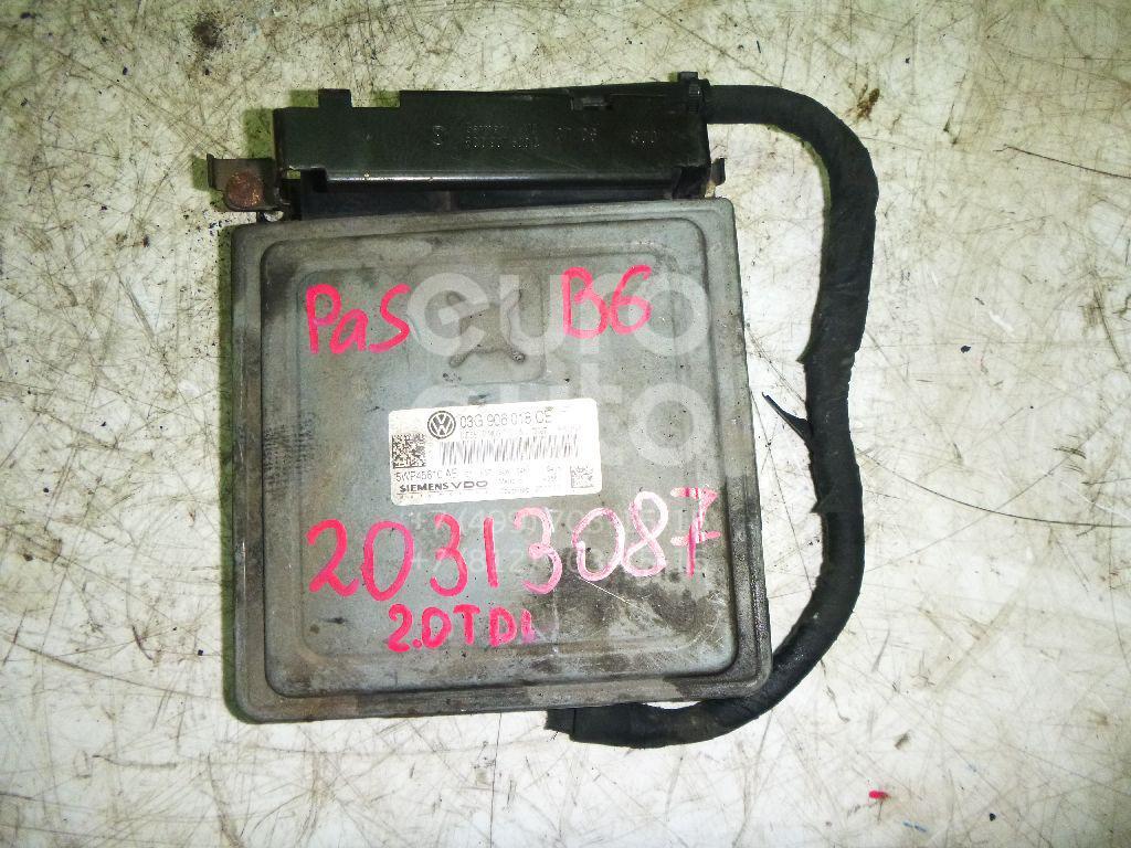 Купить Блок управления двигателем VW Passat [B6] 2005-2010; (03G906018CE)