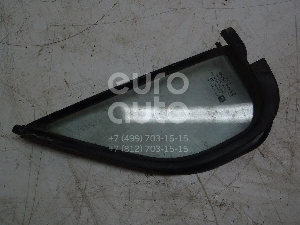 Купить Стекло двери передней левой (форточка) Opel Agila A 2000-2008; (9204075)