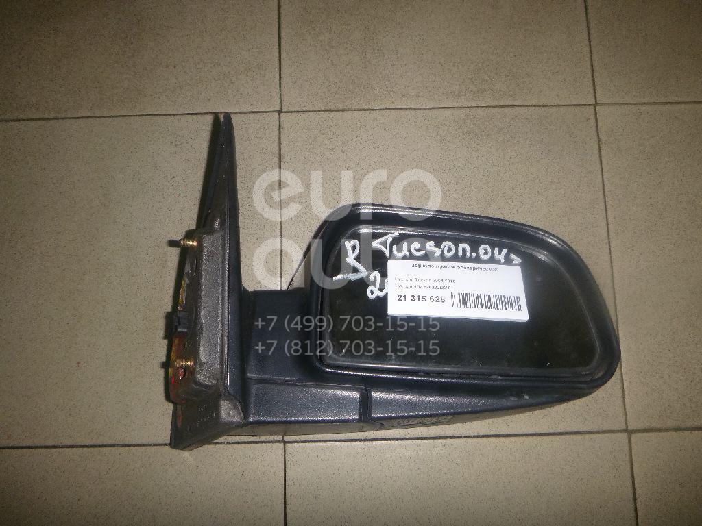 Купить Зеркало правое электрическое Hyundai Tucson 2004-2010; (876202E510)