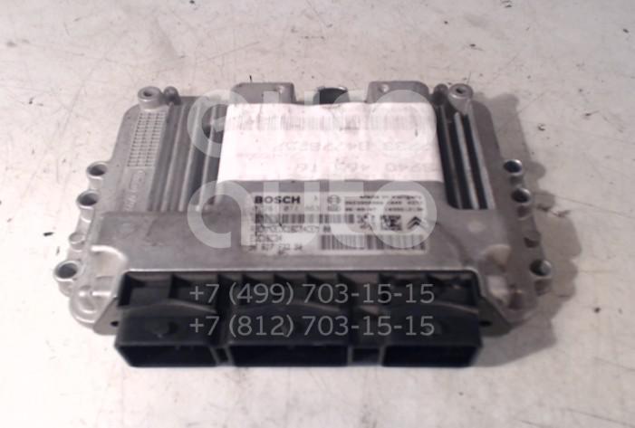 Купить Блок управления двигателем Peugeot 307 2001-2008; (1940JJ)