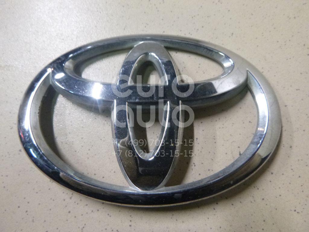Купить Эмблема на крышку багажника Toyota Yaris 2005-2011; (754310D050)