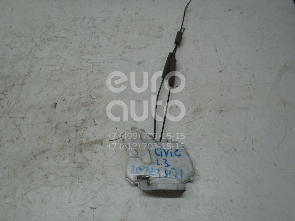Купить Замок двери задней левой Honda Civic 5D 2006-2012; (72650SMGE01)