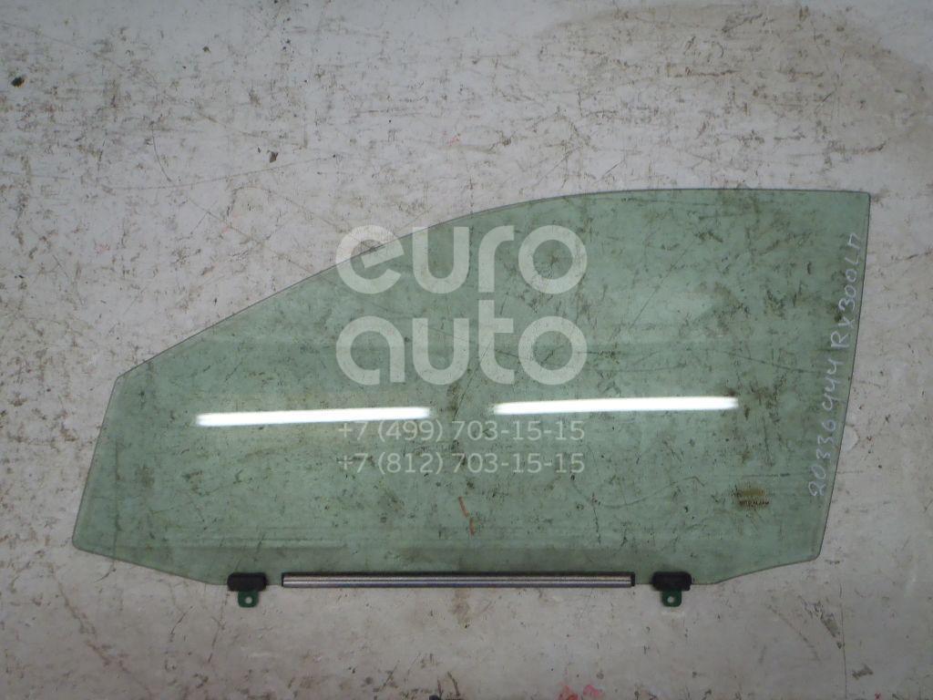Купить Стекло двери передней левой Lexus RX 300/330/350/400h 2003-2009; (6810248071)