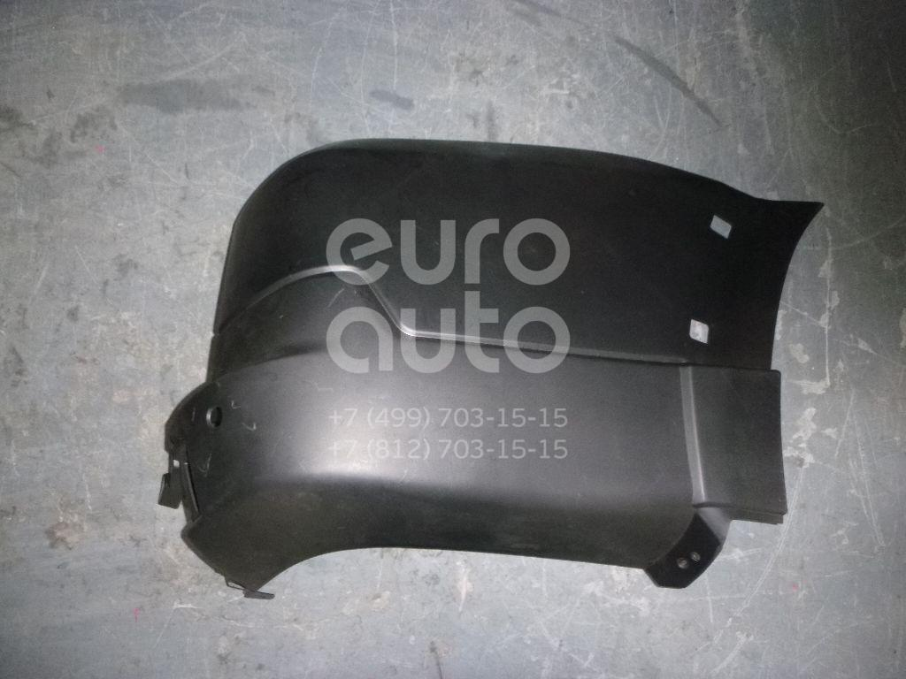 Купить Накладка заднего бампера правая Mitsubishi Pajero/Montero IV (V8, V9) 2007-; (MB42010R)