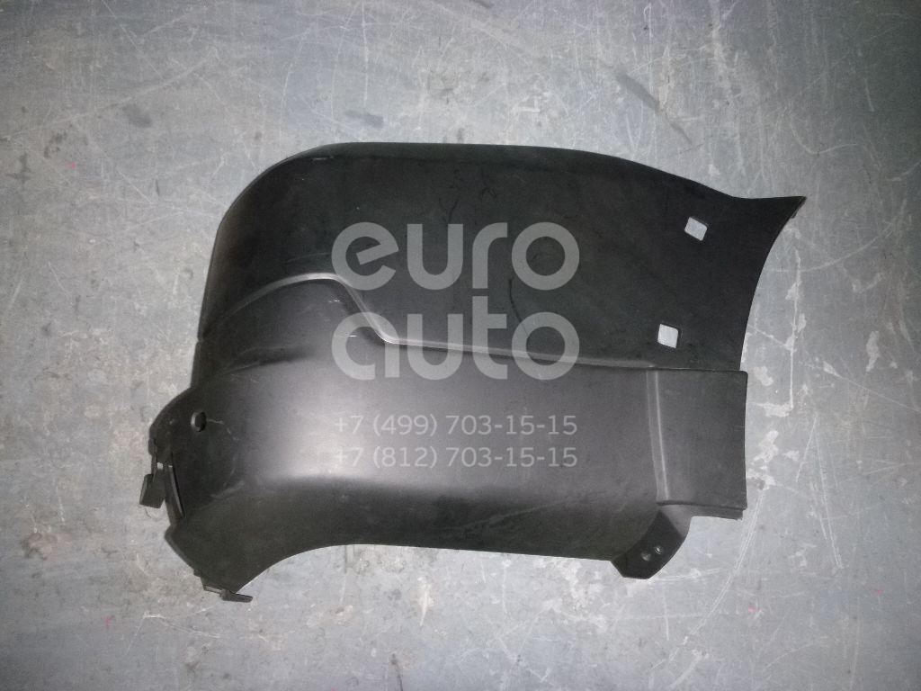 Купить Накладка заднего бампера правая Mitsubishi Pajero/Montero IV (V8, V9) 2007-; (MB4-2-010R)