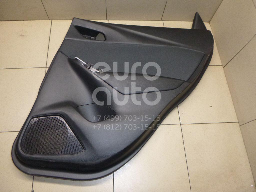 Купить Обшивка двери задней правой Mazda CX 3 2015-; (D10E68520F05)