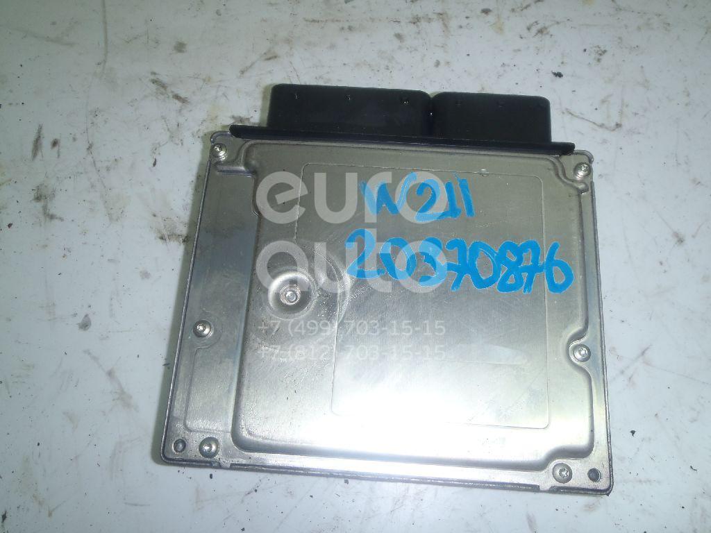 Купить Блок управления двигателем Mercedes Benz W211 E-Klasse 2002-2009; (6481531279)