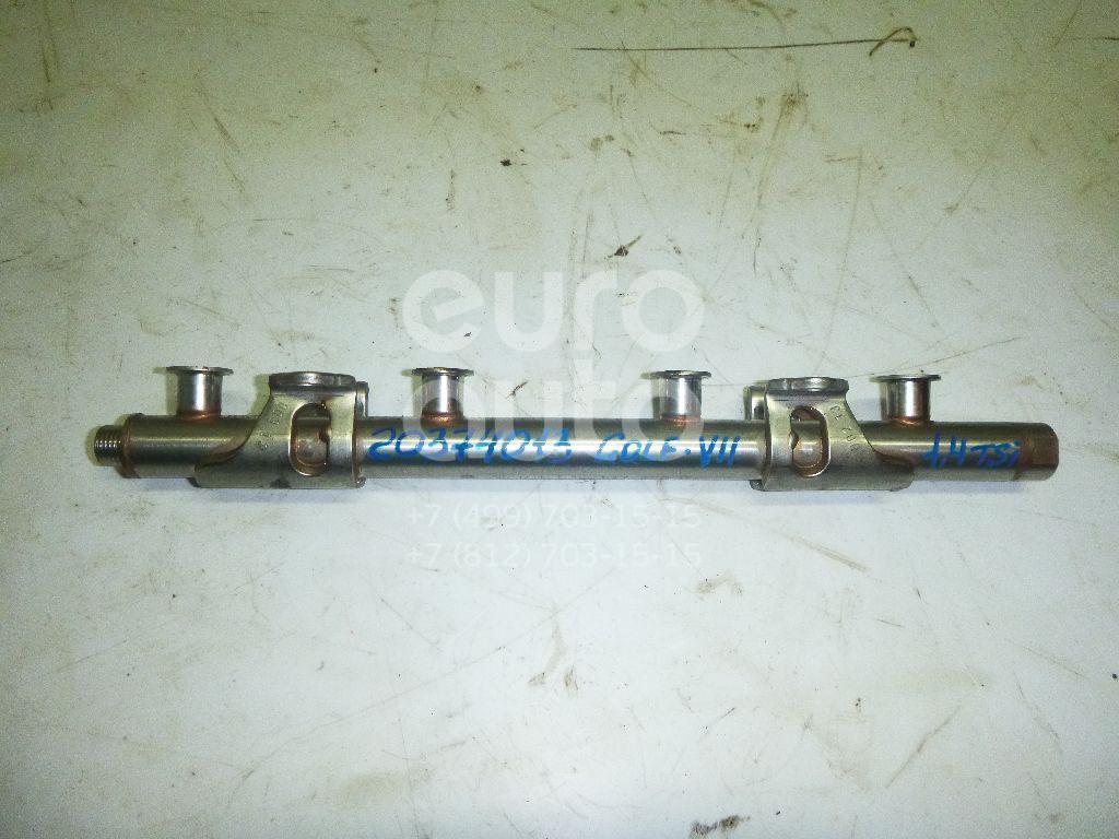 Купить Рейка топливная (рампа) VW Golf VII 2012-; (04E133320D)