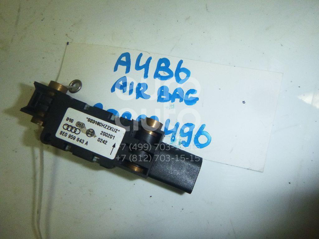 Купить Датчик AIR BAG Audi A4 [B6] 2000-2004; (8E0959643A)