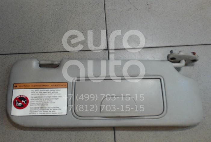 Купить Козырек солнцезащитный (внутри) Chevrolet Captiva (C100) 2006-2010; (96813621)