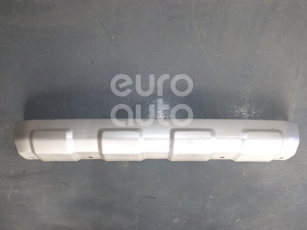 Купить Накладка переднего бампера центральная Mitsubishi Pajero/Montero IV (V8, V9) 2007-; (6405A189HA)