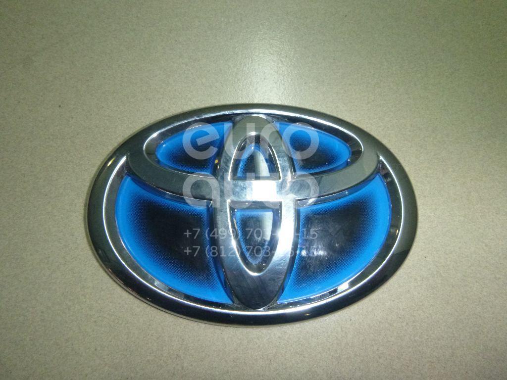 Купить Эмблема на крышку багажника Toyota Auris (E18) 2012-; (754310D050)