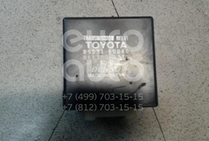 Купить Реле КПП Toyota Land Cruiser (100) 1998-2007; (8953160040)