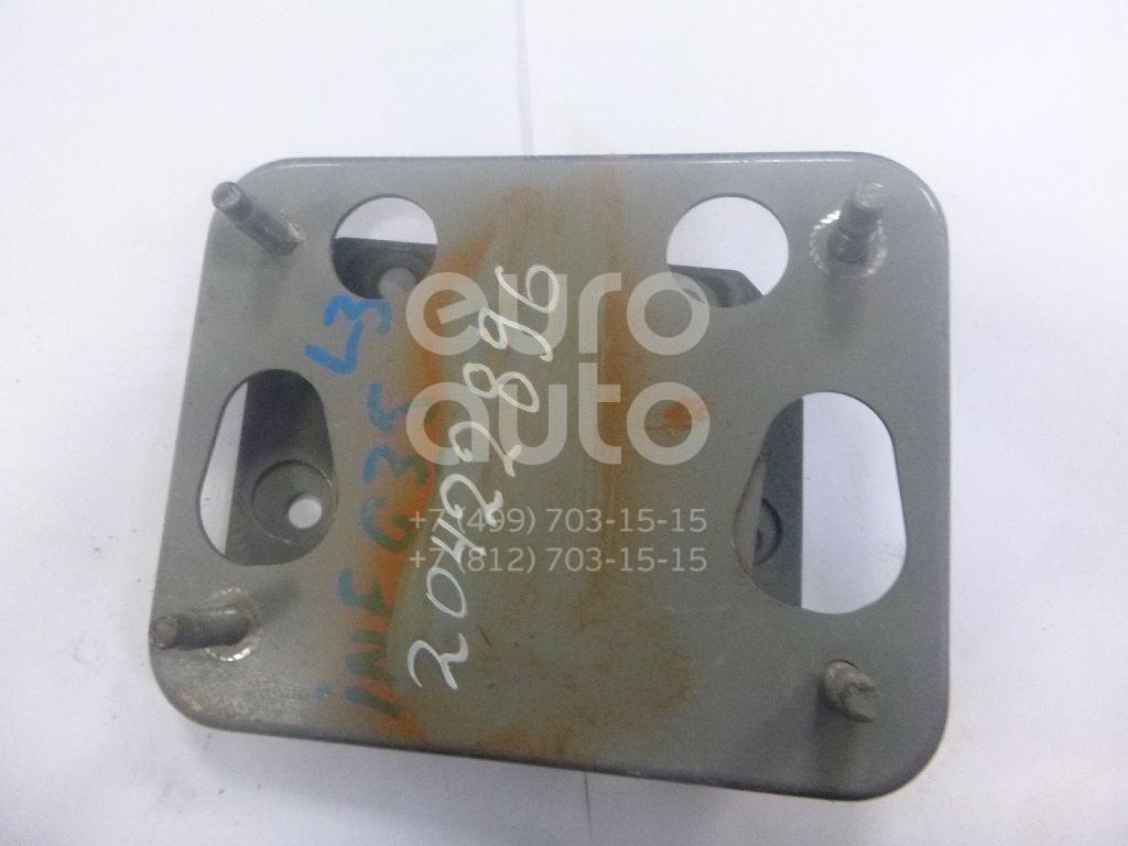 Купить Кронштейн усилителя заднего бампера левый Infiniti G (V35) 2002-2007; (85211AM610)