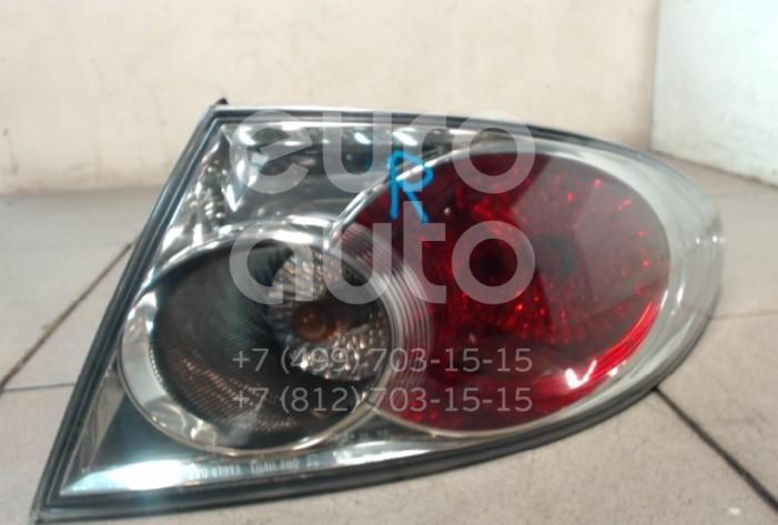Купить Фонарь задний наружный правый Mazda Mazda 6 (GG) 2002-2007; (GJ6A51150E)