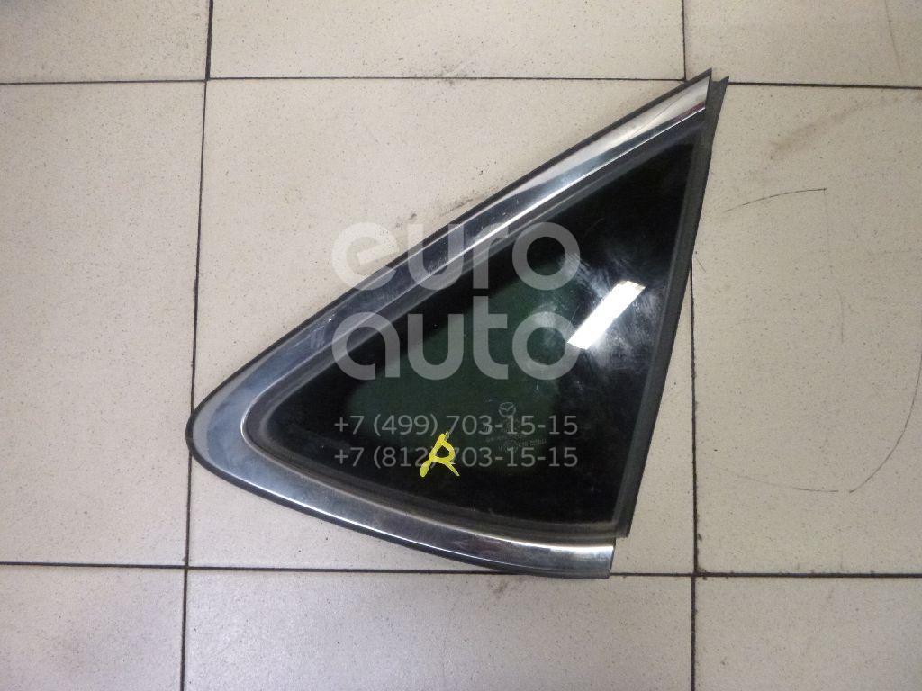 Стекло кузовное глухое правое Mazda Mazda 6 (GH) 2007-2012; (GS9B62950A)  - купить со скидкой