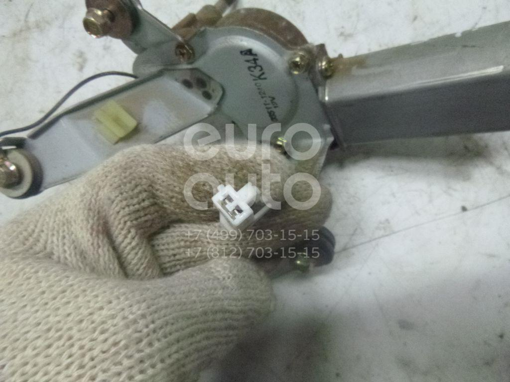 Купить Моторчик стеклоочистителя задний Kia RIO 2000-2005; (0K34A67450E)