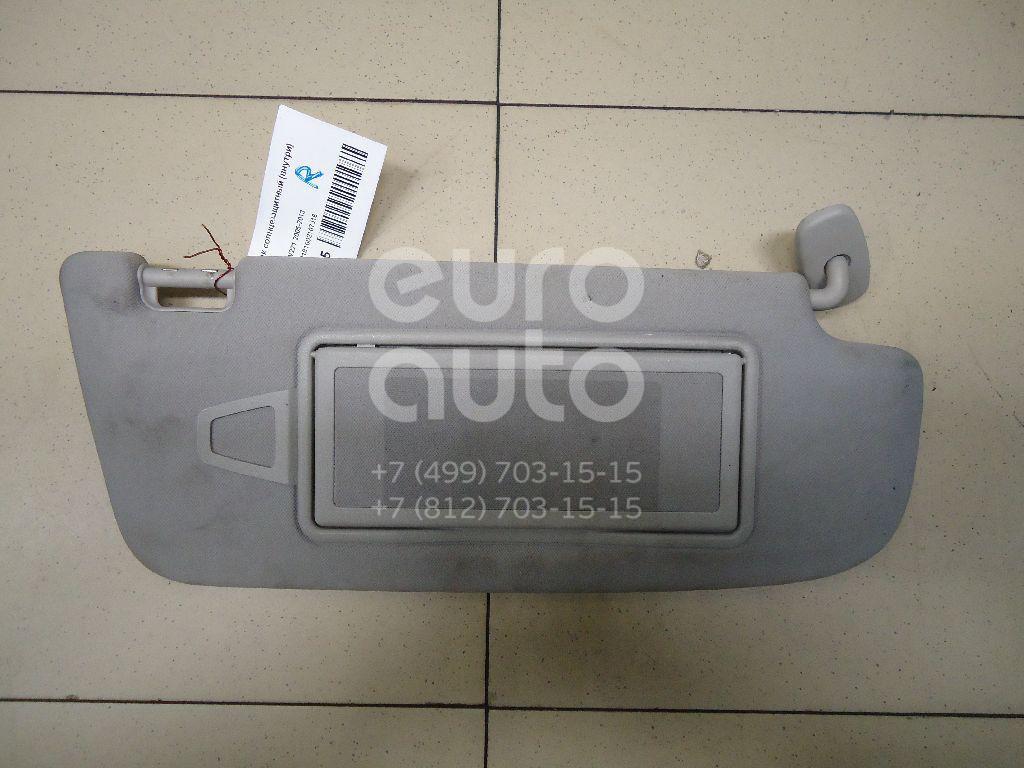Козырек солнцезащитный (внутри) Mercedes Benz W221 2005-2013; (22181002107J16)  - купить со скидкой