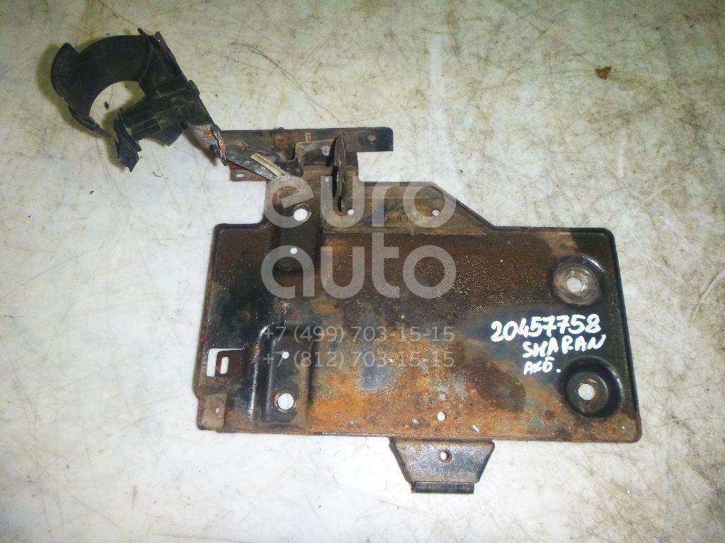 Купить Крепление АКБ (корпус/подставка) VW Sharan 2000-2004; (7M3804841B)
