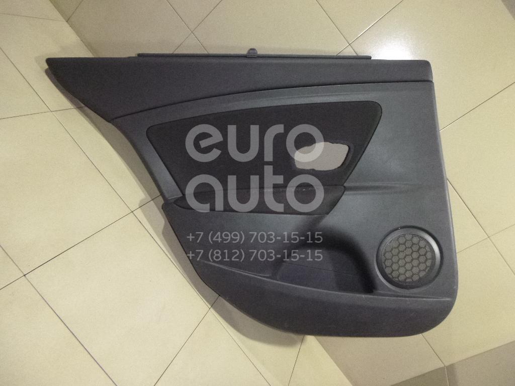 Купить Обшивка двери задней левой Renault Fluence 2010-; (829A12102R)