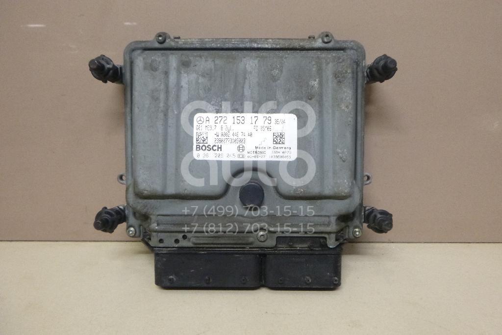 Купить Блок управления двигателем Mercedes Benz W164 M-Klasse (ML) 2005-2011; (2721531779)