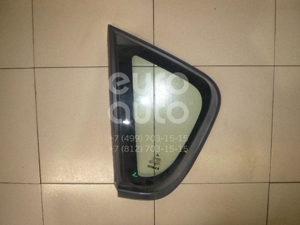 Стекло кузовное глухое левое Mitsubishi Colt (Z3) 2003-2012; (MR957059)  - купить со скидкой