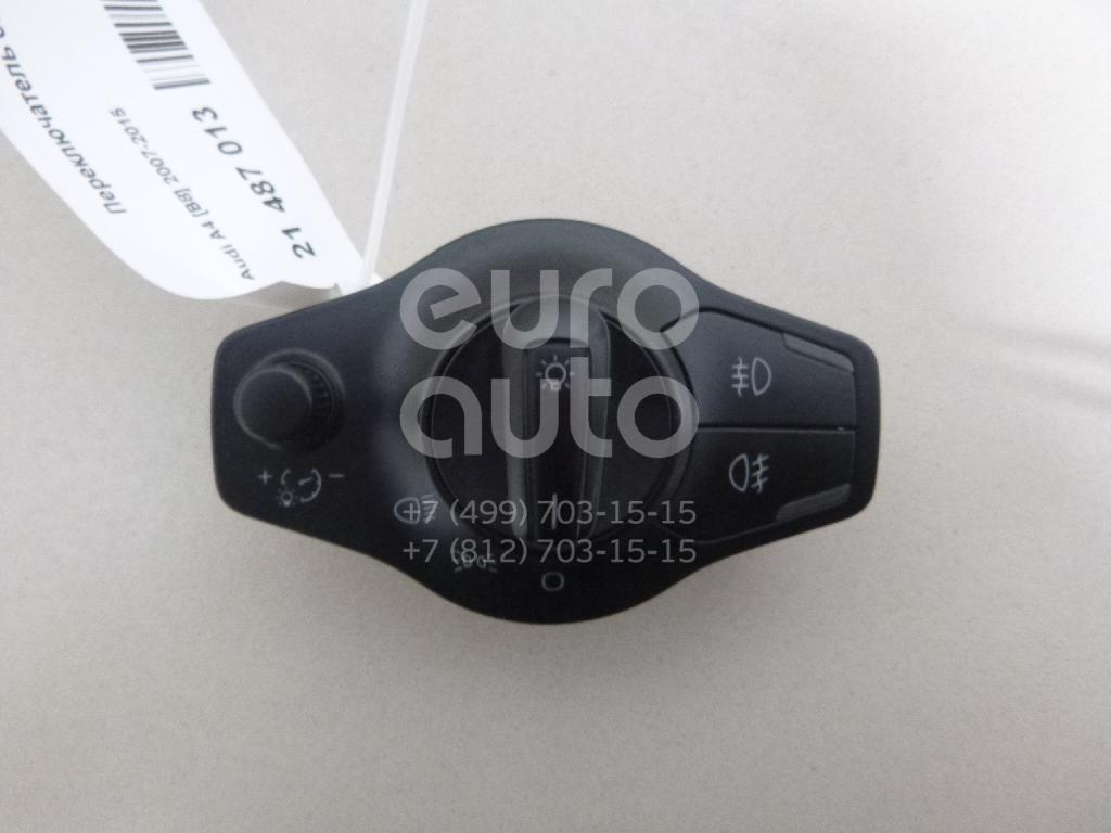 Купить Переключатель света фар Audi A4 [B8] 2007-2015; (8K0941531PV10)