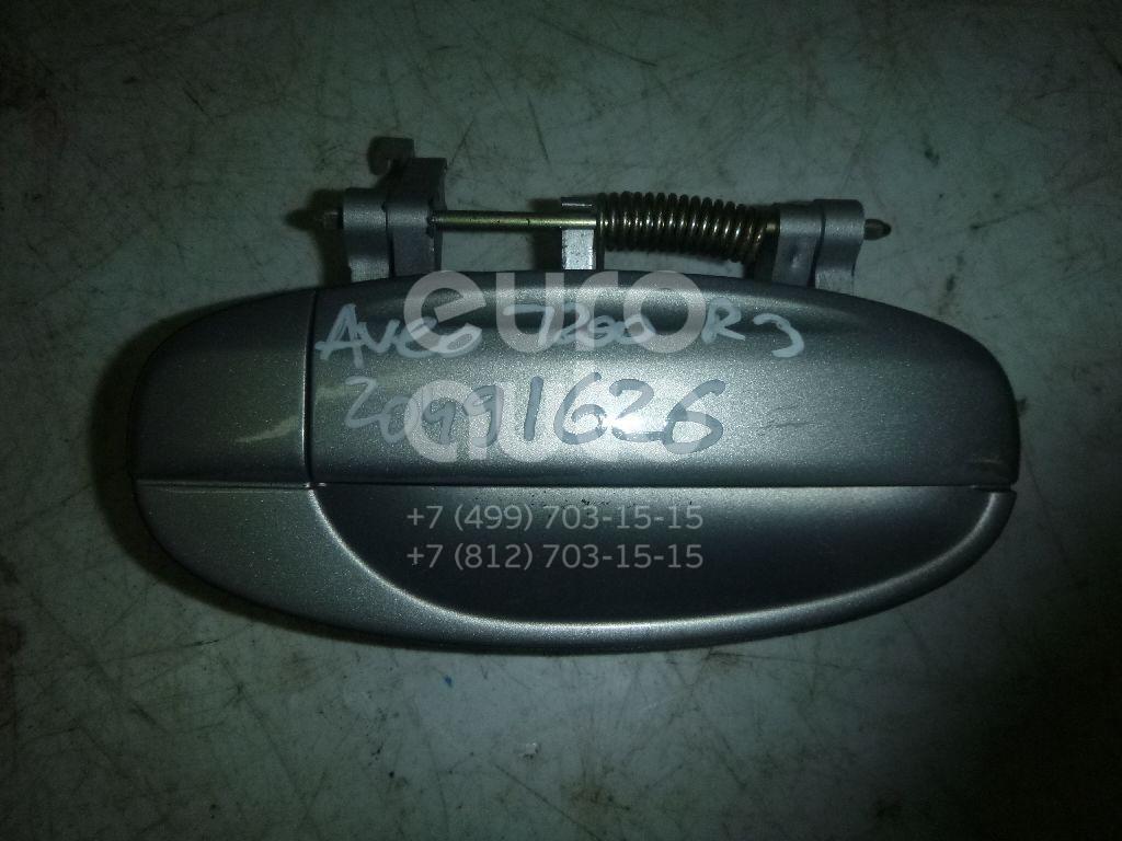 Купить Ручка двери задней наружная правая Chevrolet Aveo (T200) 2003-2008; (96410185)