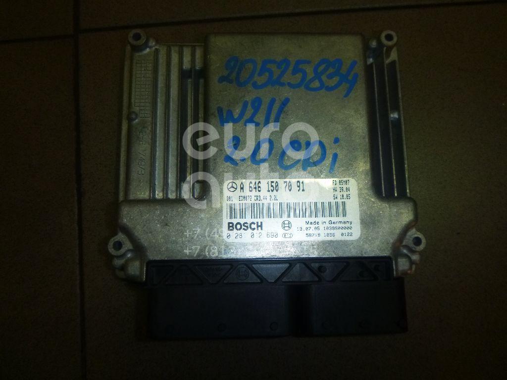 Купить Блок управления двигателем Mercedes Benz W211 E-Klasse 2002-2009; (6461507091)