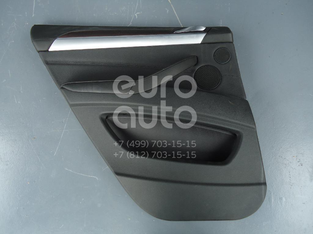 Обшивка двери задней левой BMW X6 E71 2008-2014; (51427244815)