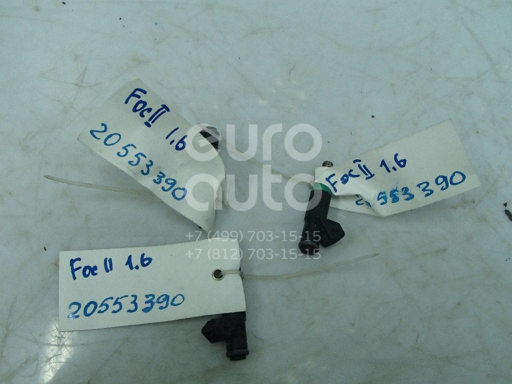 Купить Форсунка инжекторная электрическая Ford Focus II 2005-2008; (1429840)