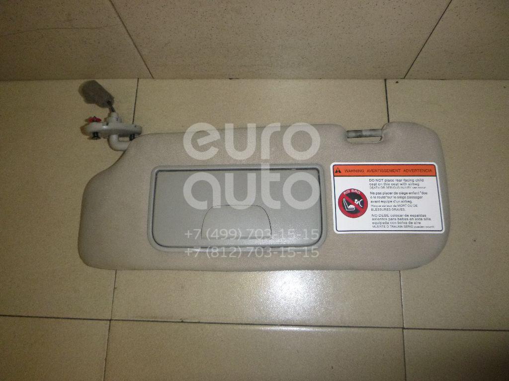 Купить Козырек солнцезащитный (внутри) Chevrolet Captiva (C140) 2011-; (25926415)
