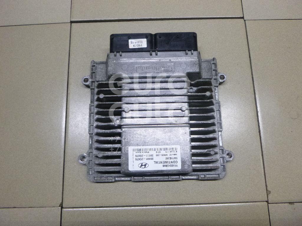 Купить Блок управления двигателем Hyundai Sonata VI 2010-2014; (391112G676)