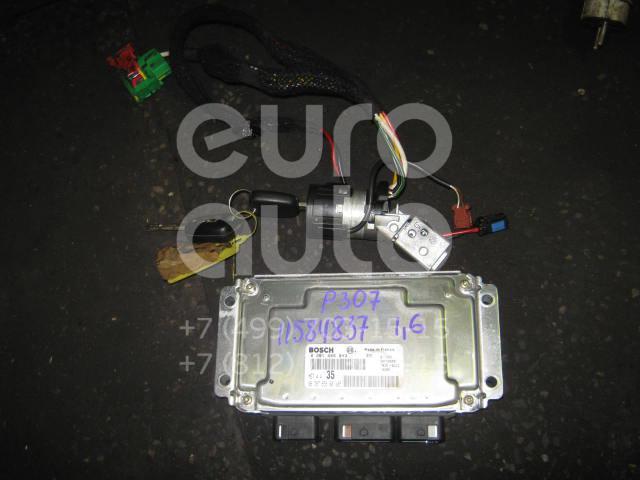Купить Блок управления двигателем Peugeot 307 2001-2008; (0261206943)