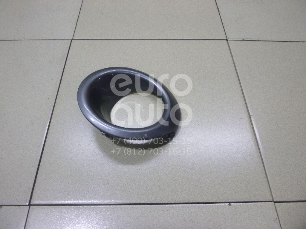 Купить Рамка противотуманной фары левой Nissan Note (E11) 2006-2013; (622579U10A)