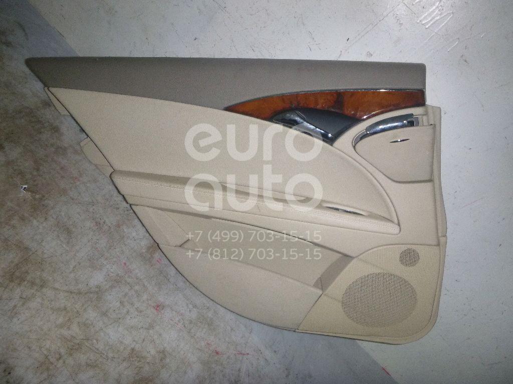 Купить Обшивка двери задней левой Mercedes Benz W211 E-Klasse 2002-2009; (21173005708J53)